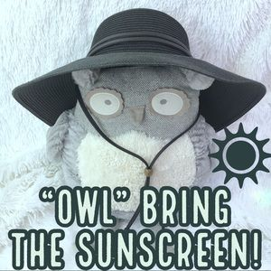 Black Floppy Sun Hat 50+ UPF Sun Protection Beach